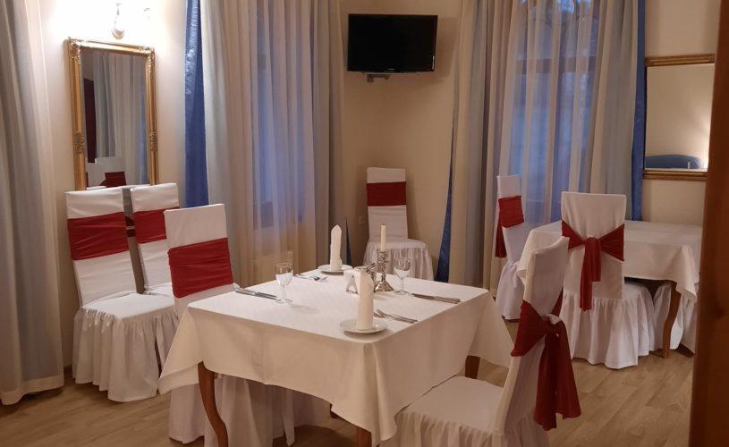 Ваш личный ресторан в номере Pegasa Pils Hotel